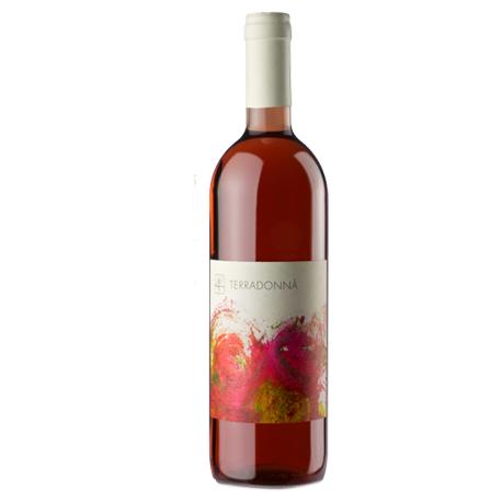 Terradonnà rosato vino toscano prodotto in Val di Cornia Toscana
