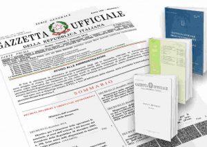 normative vino gazzetta ufficiale delal repubblica italiana