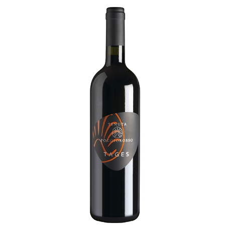 tages vino rosso 50 % sangiovese 50 % merlot